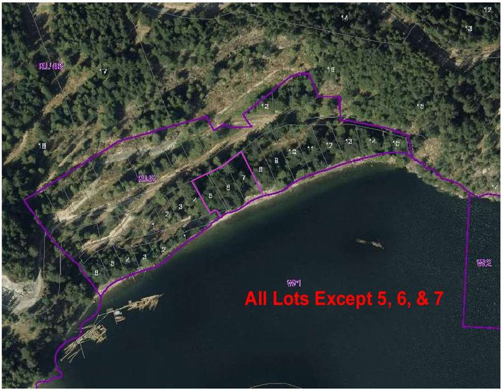Photo of home for sale at 38 Lots WITHERBY BEACH, Gibsons BC